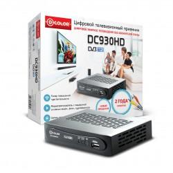 .Цифровой ТВ приемник    D-color DC930HD